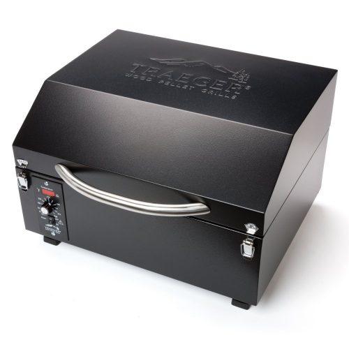 Traeger TFT17LLA PTG+ Wood Pellet Grill, Black (15-Inch)