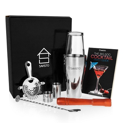 Top 10 Best Cocktail Shaker Set of 2018 Reviews